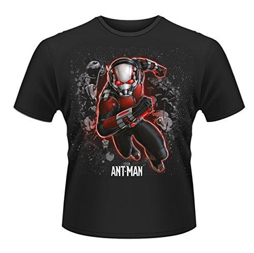 Plastic Head Ant-man Antman - T-shirt - Homme, Noir (Black), Medium