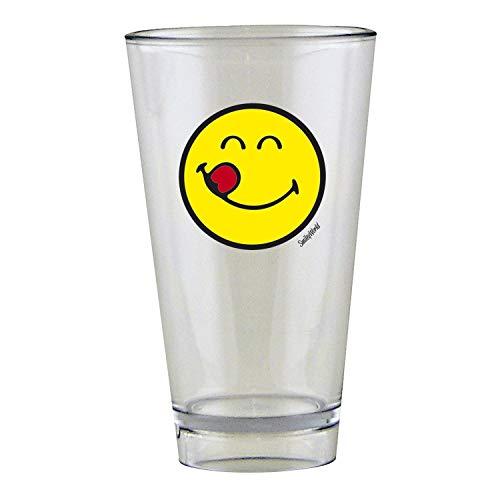 Zak Designs 6727-r953 Smiley Emoticon Lecker Glas 30 cl in Geschenkbox