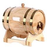 Tonneau de chêne en barrique Mini Baril de bière à l'alcool Mini Baril en chêne 1.5L
