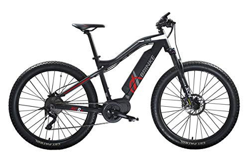 Brinke Bicicletta Elettrica XCR+ 500 (Nero, L)