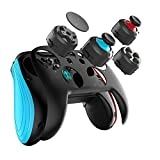 Wireless Controller for Nintendo Switch,GEEKLIN Wireless Game Controller for Switch, Classic Wired Gamepad Joystick for Windows PC,NOT Compatible with iOS .