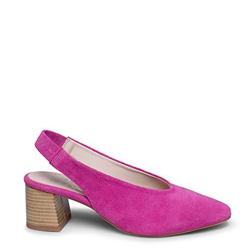 Zapatos miMaO. Zapatos Piel Mujer Hechos EN ESPAÑA. Zapato Salón Destanado. Zapato Tacón Medio Cómodo con Plantilla Gota Ultra Confort Gel