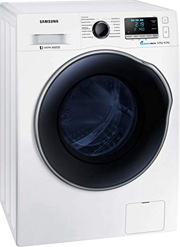 Samsung WD6000 WD91J6A00AW/EG Waschtrockner 9 + 6 kg / 1400 U/min / AAA / 2 AirWash – Programme...