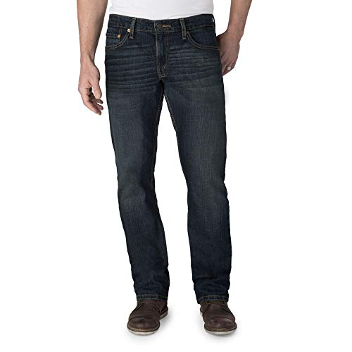 Signature by Levi Strauss & Co. Gold Label Men's Regular Straight Fit Jeans, Bigfoot, 32W x 34L