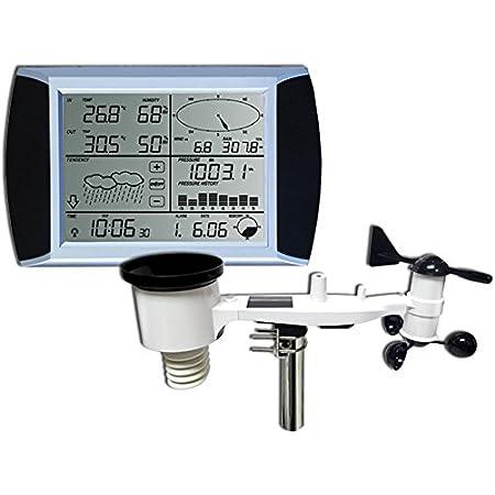 froggit WH1080 SE estación meteorológica Profesional Solar Pantalla táctil USB (Nuevo Exterior mástil)
