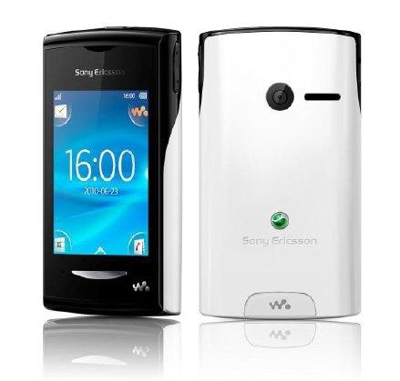 Sony Ericsson Yendo Handy (Walkman, Touchscreen, 3.5mm Anschluss, 2 MP, UKW-Radio) schwarz/weiß