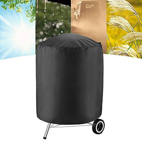 yitan Barbecue Electrique Housse BBQ Grill Cover Outdoor Rainproof Durable Anti Dust Protector Cover Barbecue Cover Garden Furniture Dust Cover