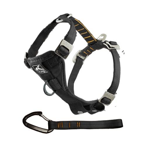 Kurgo Dog Harness   Car Harness for Dogs   Extra Large   Black   Pet Safety Seat Belt   Certified Crash Tested Harness   Car Seatbelt   Tru-Fit Enhanced Strength Style