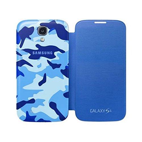 Samsung Flip Mimetica Hülle für Galaxy S4 blau