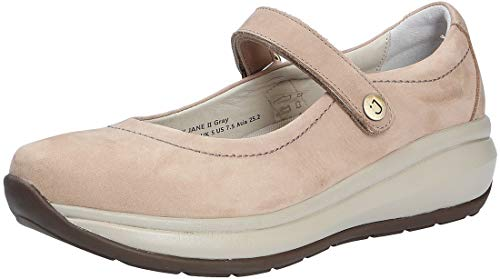 JOYA Damen Slipper 672cas Mary Jane II Grey grau 231139
