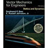 Vector Mechanics for Engineers: Statics and Dynamics/Book and Disk by Beer, Ferdinand P., Johnston, E. Russell, Jr.(August 1, 1988) Hardcover