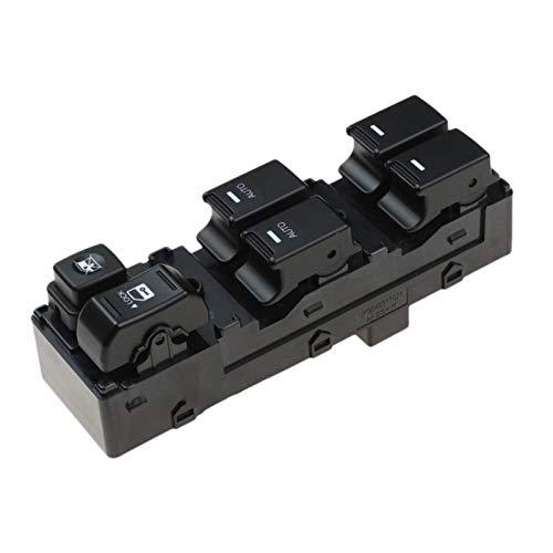 Shutters Interruptor de la Ventana del regulador de la Ventana automotriz Interruptor de Control de la Ventana Power FIT para KIA Sorento 2009-2014 93570-2P200 (Color : Black)