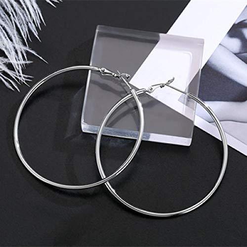 Temperament persoonlijkheid ring eenvoudige wilde oorbellen vrouwelijke overdrijving grote oorbellen cirkel oorbellen vrouwelijke ronde oorbellen