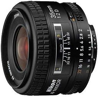 Nikon AF-Nikkor 35mm F2 D - Objetivo con Montura para Nikon (Distancia Focal Fija 35mm Apertura f/2)
