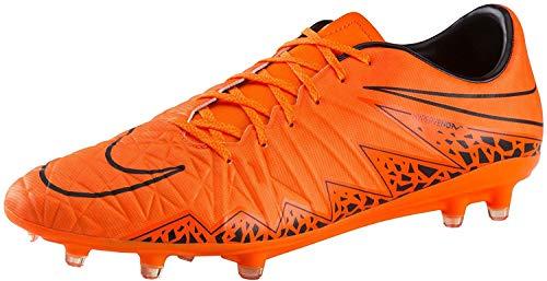 Nike Zapatos de fútbol Hypervenom Phatal II Fg para hombre, naranja (Naranja Total/Ttl Orng/Negro/Negro), 38 EU