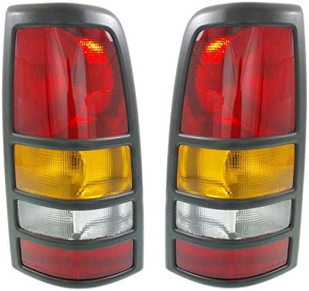 Koolzap For Silverado 3500 Seattle Mall Taillight L Rear 25% OFF Taillamp Brake Light