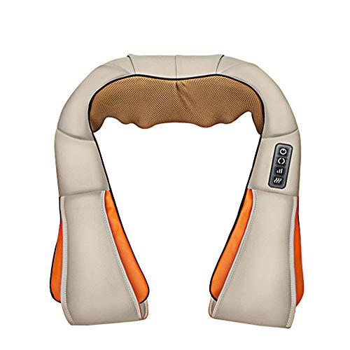 YLStorage Shiatsu-nekmassageapparaat, elektrische massage met infrarood warmtekneedmassage voor spieren, pijnverlichting, ontspan op kantoor en thuis