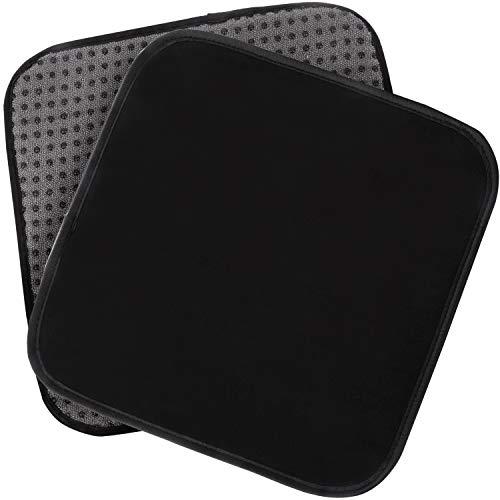 IMPRESA Bowling-Ball-Handtuch 25,4 x 20,3 cm, 2 Stück – Mikrofaser Bowling Shammy Pad mit EZ Griff – Bowling-Handtuch, das Schmutz und Öl abwischt – Reinigungspad – Bowling-Zubehör