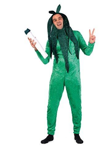 Limit Plant Crazy kostuum (groot) Large groen
