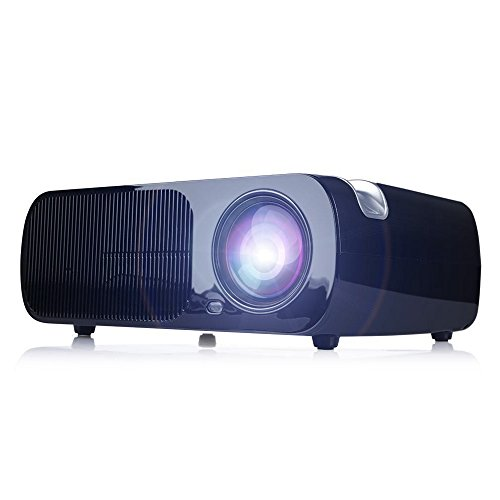 iRULU BL20 Mini Video Projector LED Projector Support 1080P Video Dual HDMI Ports for Laptop TV Computer HD Home Cinema Theater Projector
