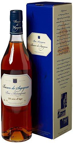 Baron de Sigognac Bas Armagnac 10 ans d Âge  Armagnac, 700 ml