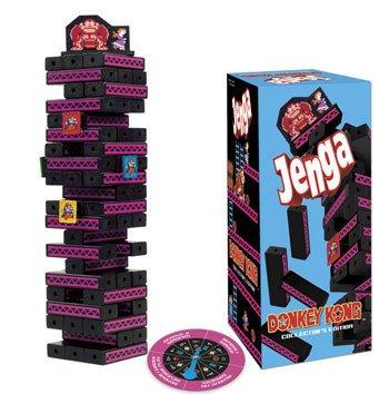 Usaopoly Jenga - Nintendo Donkey Kong