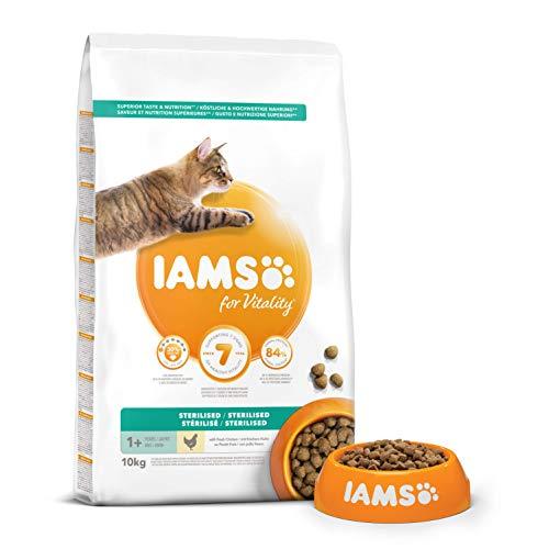 IAMS SOBREPESO/ESTERILIZADO 10kg