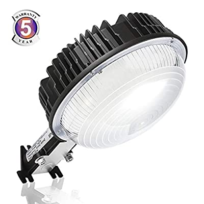 LED Barn Light, 100W Dusk to Dawn Ultra Bright LED Yard Lights with Photocell, 5000K Daylight 12,000LM 600W MH Replacement, IP65 Waterproof for Indoor Outdoor Wall Mount Security Area Lighting Fixture