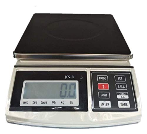ZBYL Portable Digital Shipping Postal Scale High-Precision Kitchen Weighing Scales Multifunction Electronic Scale for Home Lab Jewelry Coffee 0.1g/30kg 926 (Size : 6kg/0.2g)