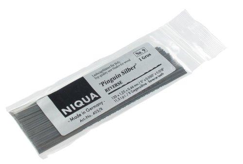 Laubsägeblätter PINGUIN SILBER REVERSE Holzlaubsägeblätter Nr: 7 Abmessung 0,42 mm x 1,10 mm Dutzend