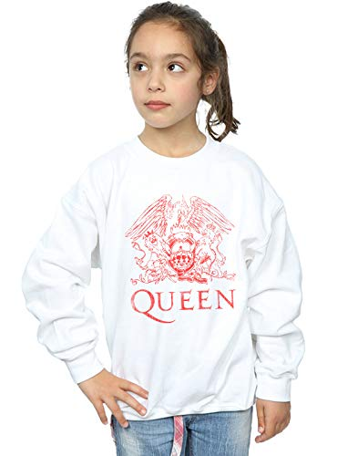 Absolute Cult Queen Niñas Distressed Crest Camisa De Entrenamiento