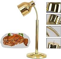 DAGCOT ライトを暖める商業ヒートランプウォーマー食品食品、ホテルのレストラン500W / 220V用食品の表示ライト、暖房バーベキューランプ、オールラウンドアジャスタブルギアスイッチ、