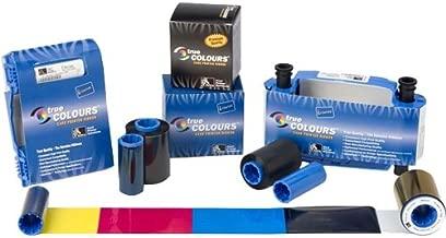 Zebra 800015-301 Black Monochrome Ribbon for Zebra C Series, P3x, P4x & P5x Card Printers -1500 Prints