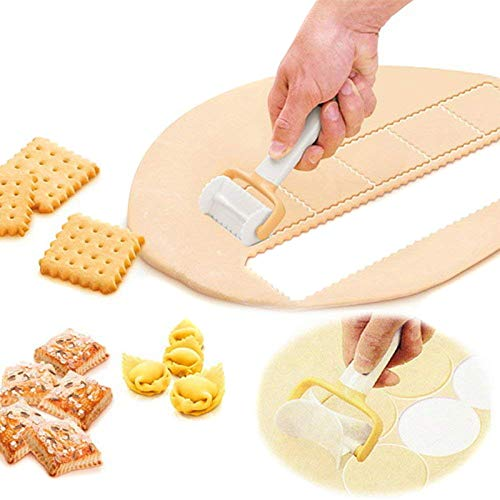 Alftek 3 Teile/Satz Magic Cutter Mold Maker Kuchen Rollen Keks Cookies Form DIY Dekor Stempel Werkzeuge Kit