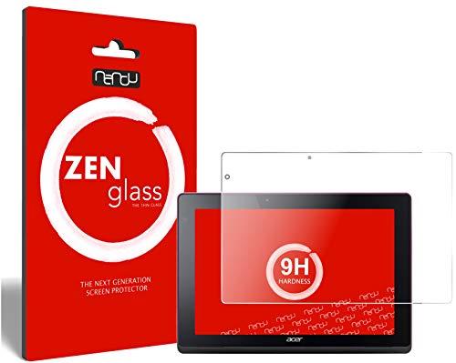 ZenGlass Flexible Glas-Folie kompatibel mit Acer Aspire Switch 10 FHD Panzerfolie I Display-Schutzfolie 9H