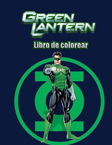 Green Lantern libro de colorear