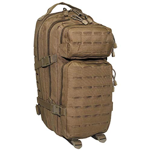 MFH 30335R US Rucksack Assault I Laser 30 Liter (23 x 44 x 24 cm/Coyote)