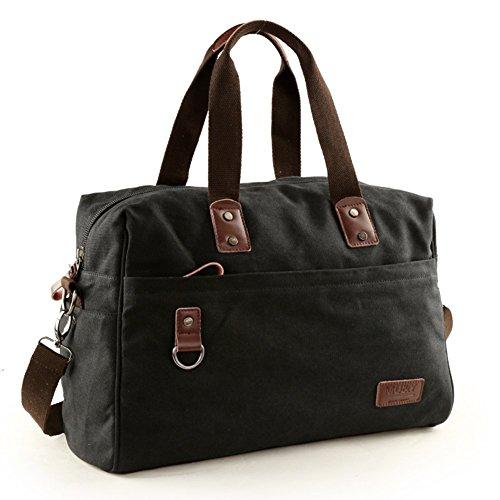 Sincere® L'Europe sac de toile de marée / grand sac d'épaule de capacité / sac extérieur / sac Messenger / sac-noir