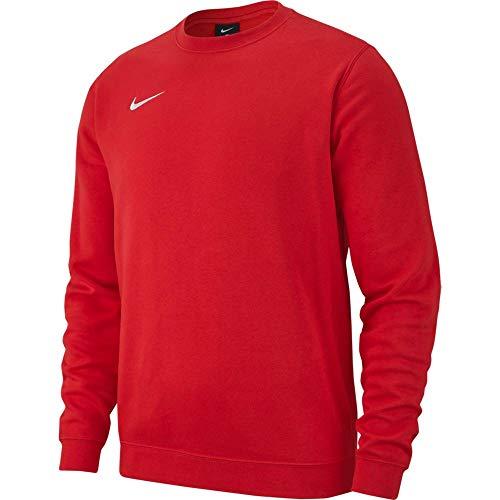 Nike M Crew Fleece Team Club 19 Sudadera, Hombre, Rojo (University Red/White), 2XL