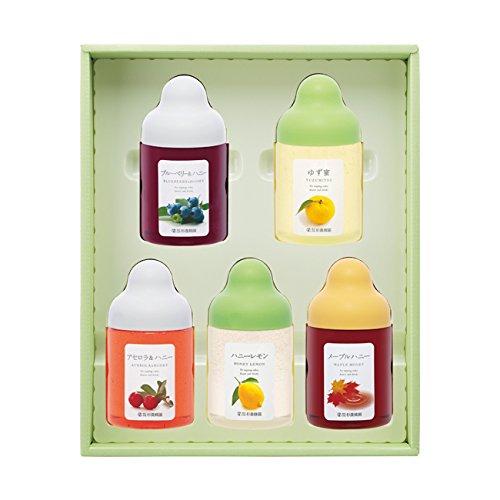 ALN5P(ゆず蜜、ブルーベリー、アセロラ、レモン、メープル)