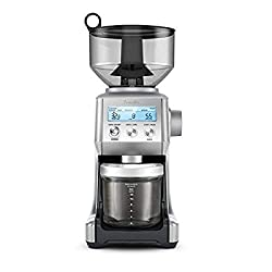 cheap Breville BCG820BSS Smart Grinder Pro Coffee Grinder is made of frosted stainless steel