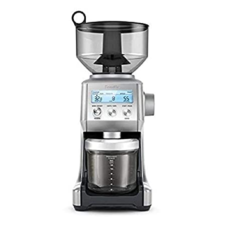 Breville -The Smart Grinder Pro Coffee Bean Grinder, Brushed Stainless Steel