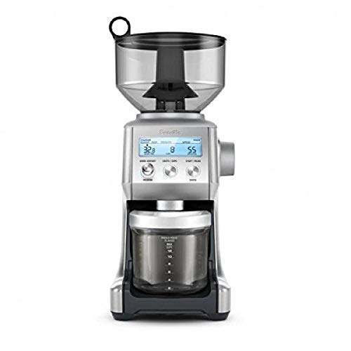 Breville BCG820BSS Smart Grinder Pro Coffee Bean Grinder, Brushed Stainless Steel