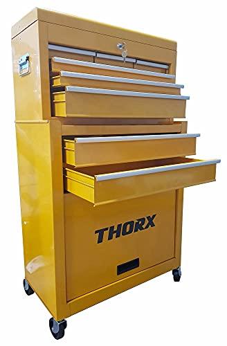 Carrello Porta Attrezzi Utensili da Lavoro in Acciaio Becker Thorx