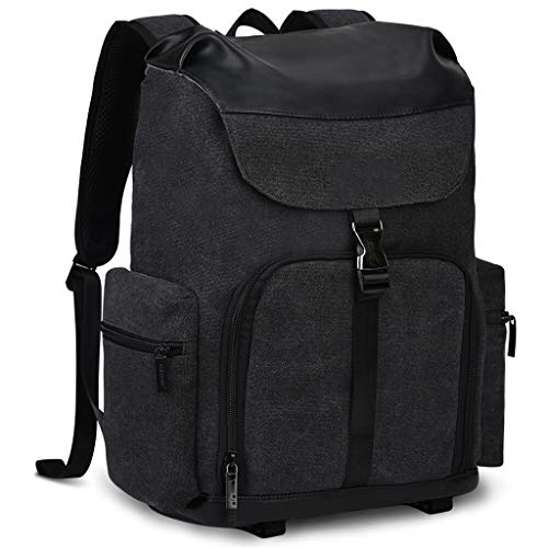 WUHUAROU Mochila para cámara Bolsa de Lona Impermeable para cámara Bolsa de fotografía Grande Resistente al Desgaste al Aire Libre