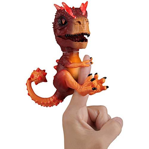 WowWee Untamed Radioactive T-Rex - X-Ray (Orange) - Interactive Toy