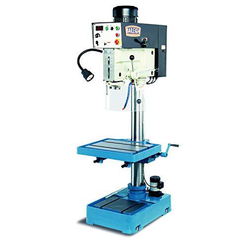 "Baileigh DP-1250VS-HS High Speed Drill Press, 1-Phase 220V, 2hp Motor, 1.5"" Capacity"