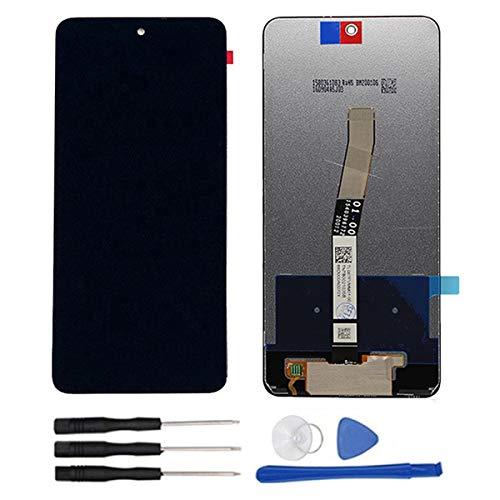 soliocial Completa Pantalla LCD + Táctil Digitalizador Reemplazo para Xiaomi Redmi Note 9 Pro/Note 9S 6.67 Inch Negro