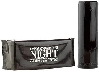 Emporio Armâni Night for Him Men's Eau de Toilette EDT Spray 1.7 OZ. 50 ml.