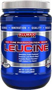 Leucine amino acid energy - 400 grams by AllMax Nutrition M